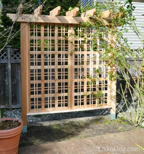building a garden trellis beautiful garden trellis for climbing roses or vines