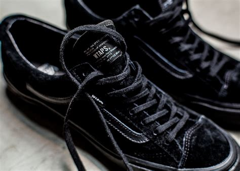 Sepatu Sneakers Vans Sk8 High X Wtaps Original Premium Bnib Wafle Icc vault by vans x wtaps lodown magazine