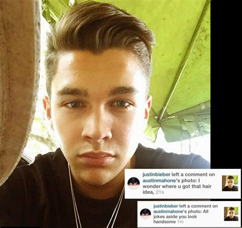 Justin Bieber Hairstyle 2015 Side View by Justin Bieber Mahone Each Other Hairstyles