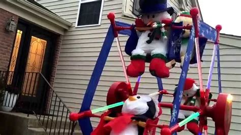 rotating christmas ferris wheel w characters by gemmy gemmy ferris wheel outdoor decoration psoriasisguru