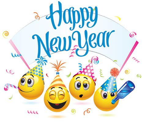 pictures of new year symbols happy new year emoticons message noel bonne 233 e et annee