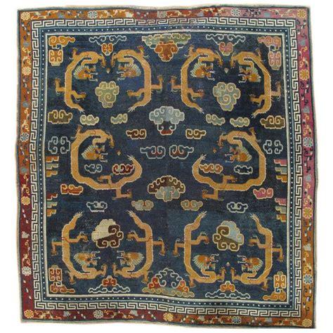 antique tibetan rugs antique tibetan carpet circa 1880 handmade rug blue gold for sale at 1stdibs