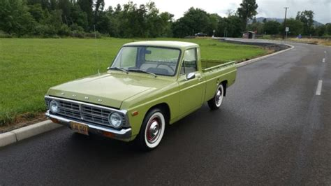 how cars engines work 1986 ford courier electronic toll collection 1974 ford courier pickup mini truck lime green retro datsun style
