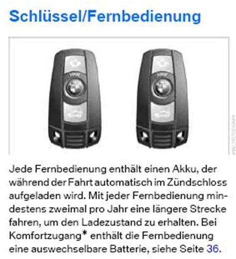 Bmw 1er 2005 Schlüssel Batterie Wechseln by Schluessel Funkfernbedienung Batterie Bald Leer Bmw