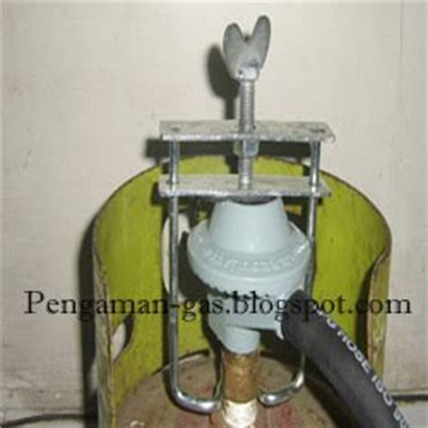 Pengaman Gas Serbagunacocok Untuk Tabung Gas 3kg55kg12kg kunci pengaman regulator gas elpiji