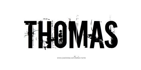 Tattoo Name Thomas | thomas name tattoo designs
