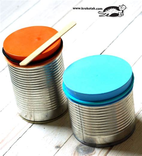 tutorial real drum how to make a real drum kids craft diy pinterest