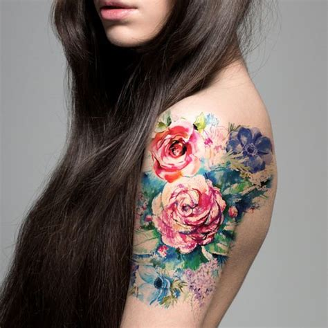 flower bouquet tattoo 40 breathtaking watercolor flower designs amazing