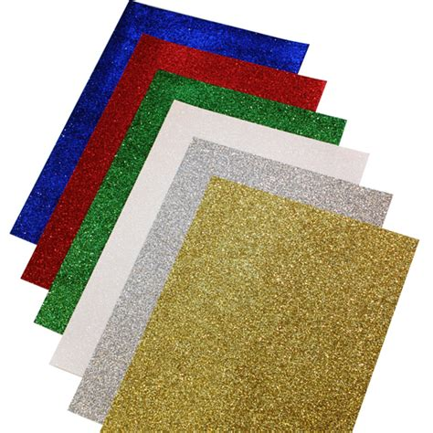 glitter paper a4 pk12 bright ideas crafts