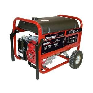 powermate 7 000 watt gasoline powered manual start