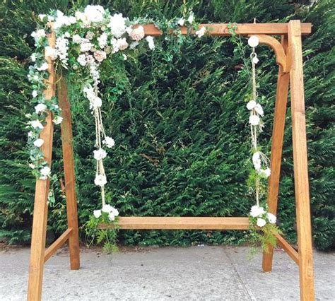 swinging melbourne wedding swing flower swing hire melbourne