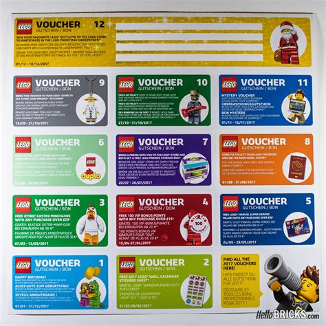 Lego Shop Calendrier Uk Europe Wall Calendar 2017 Lego Shop Home
