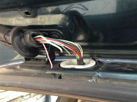 rear window switch operates back wiper toyota 4runner
