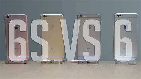 iphone 6s vs iphone 6 10 raisons d acheter l iphone 6s