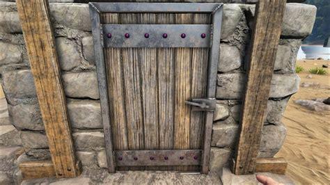 Reinforced Door by Reinforced Wooden Door Official Ark Survival Evolved Wiki