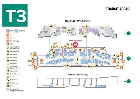 Floor Layout Free Online changi maps t3 king william travel
