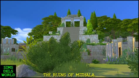 Iconix Ls Lostcity 1 simsdelsworld the sims 4 lost world quot ruins of mithala city