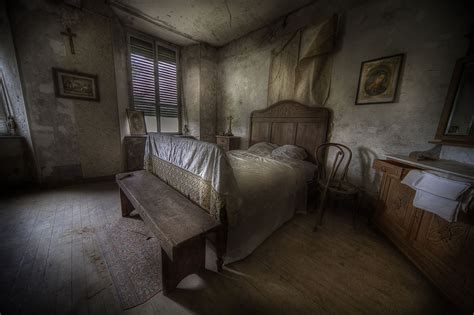 Creepy Bedroom by Hauntingly Beautiful Abandoned Europe Meet Urbex Master