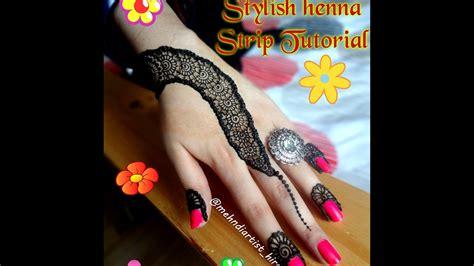 apply easy simple henna mehndi designs  hands tutorial eidweddings  youtube