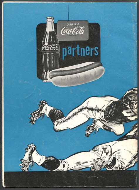 1960 los angeles chargers lot detail 1960 los angeles chargers football program