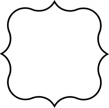frame outline template flourish frame gif 354 215 350 pixels