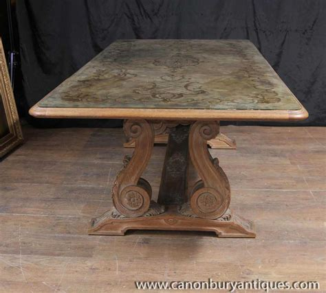 antique french dining antique french art nouveau eglomise dining table glass