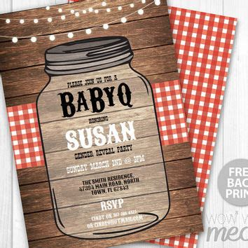 Bbq Baby Shower Invitations Templates Free by Shop Couples Baby Shower Invitations On Wanelo