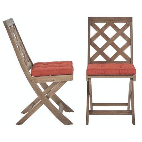 Martha Stewart Dining Chairs Martha Stewart Living Calderwood Patio Dining Chair With Cherry Cushion 2 Pack 9432800270