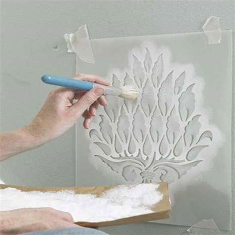 Baroque Wall Stickers 4 t 233 cnicas criativas de pintura em paredes