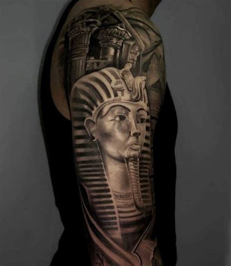 egyptian pyramid tattoos 60 tattoos for ancient design ideas