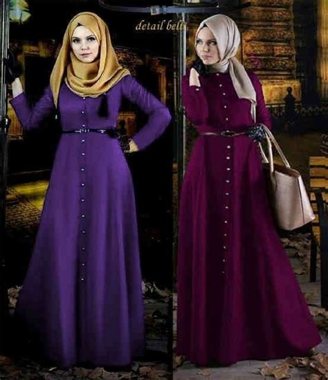 Gamis Syari Busui Brown pin by busana muslim modern on busana muslim