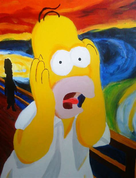 simpsons painting homer simpsons by malleymalos on deviantart