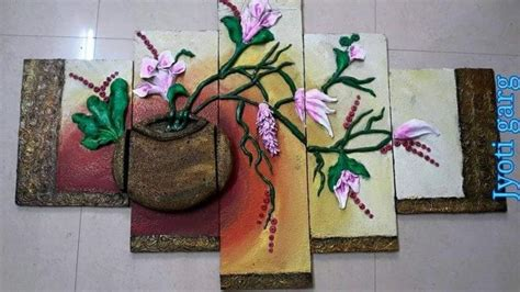 mural wall hanging mural wall hanging simple craft ideas
