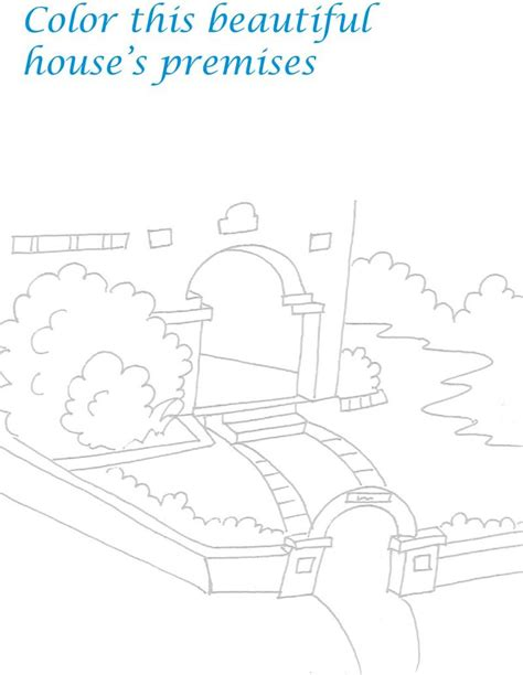 Free Coloring Pages Of Lego Scenery Scenery Coloring Pages