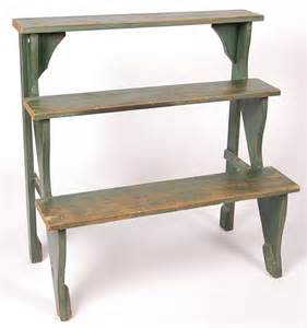 cute three tier plant stand circa early 20th century lot 223