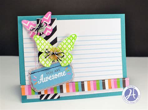 how to make awesome cards hton 2 cards by britt bass and a and