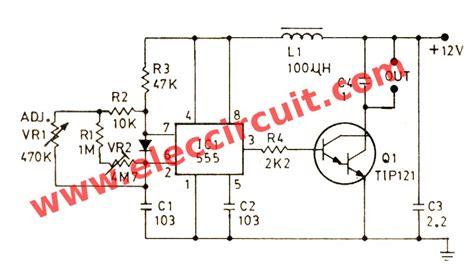 darlington transistor speed 555 pwm dc motor controller circuit eleccircuit