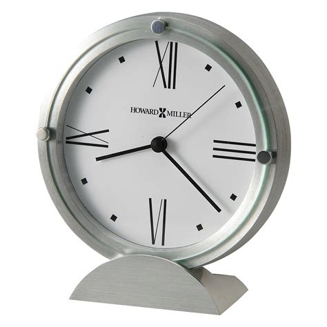 desk clock howard miller 645 671 simon ii desktop clock desk