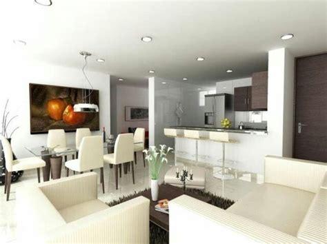 sala comedor cocina integrado ideas  el hogar en