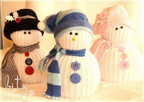 sock snowman tutorial sock snowmen crafts