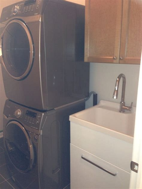 costco laundry tub and stackable washer dryer   social