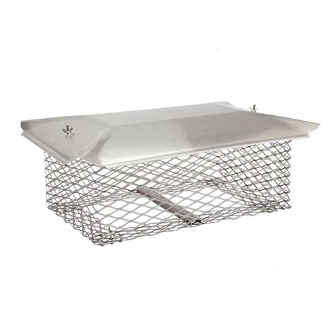 home depot chimney cap hy c 13 in x 13 in chimney cap in stainless steel