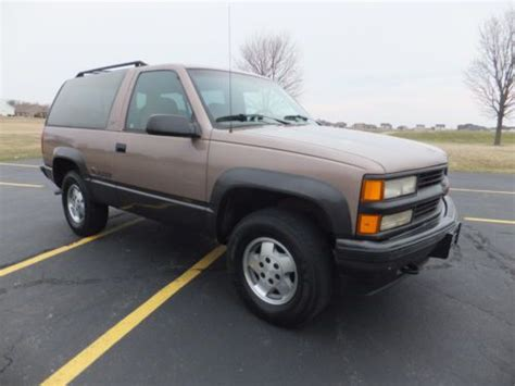 auto manual repair 1994 chevrolet s10 parking system find used 1994 chevrolet blazer 2 door 4x4 tahoe in peru illinois united states