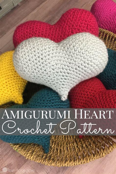 amigurumi love pattern amigurumi love heart crochet pattern