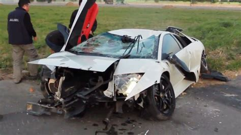 lamborghini reventon crash lamborghini crashes after racing an r c helicopter