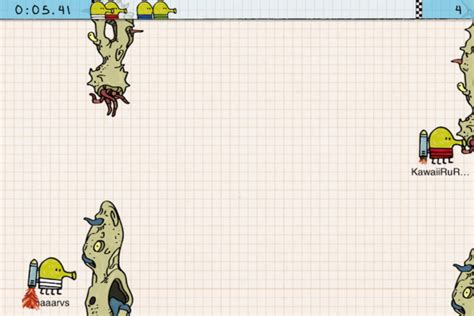 doodle jump original doodle jump race jogos techtudo