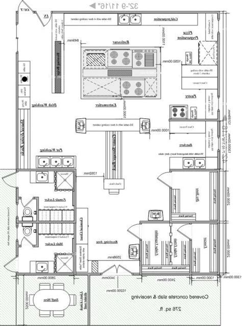 exles of layouts of commercial kitchen afreakatheart commercial kitchen layout photos