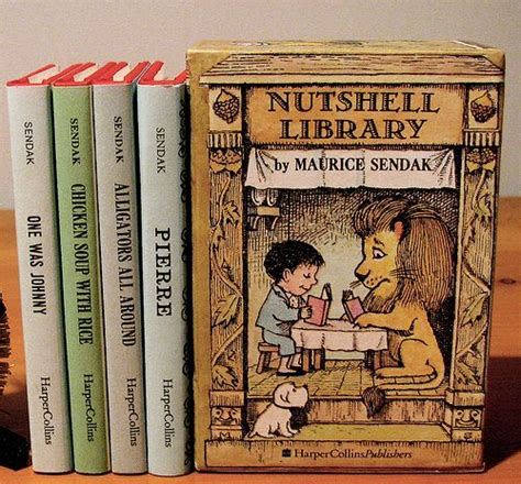 nutshell library caldecott collection 124 best images about maurice sendak on