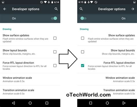 layout rtl android hidden features of android lollipop otechworld