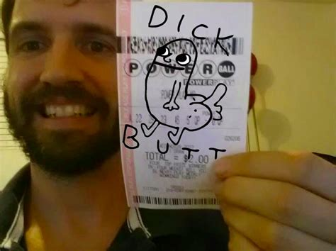 Dick Butt Meme - powerball winner dick butt know your meme